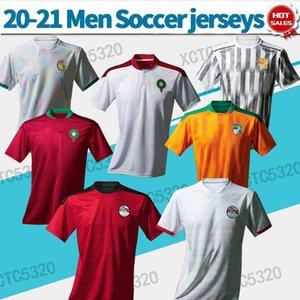 2020 2021 이집트 모로코 세네갈 축구 유니폼 남성 국가 팀 축구 셔츠 사용자 정의