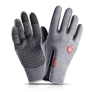 2020 Winter Warm Gloves Men's Hiking Riding Gloves Women's Skiing Snow Waterproof Touch Screen Outdoor Sports Equipments