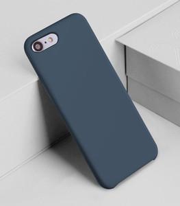 De silicona para el iPhone XS MAX XR X Casos para Huawei MATE 20 Pro de Samsung caso de la nota 8 no menor de la cubierta original