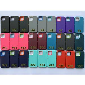 Robot Armor Case для iPhone 12 Mini 11 Pro X XR XS MAX 6 6S 7 8 PLUS для Samsung S20 Ультра + S10E S10 S9 PLUS S8 S7 EDGE Примечание 20 10 9 8