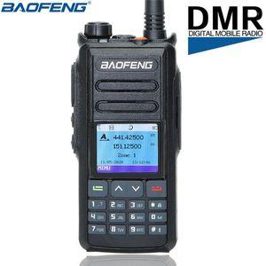 Baofeng DM-X DMR DIGITAL / analógico Walkie Talkie GPS Registro de GPS Tier 12 Tier II Dual Slot Digital Ham Ham Radio Upgrade de DM-17021
