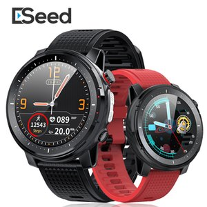 ESEED 2020 L15 Smart Watch Men IP68 Waterproof Bluetooth Music Control Camera Flashlight PK L5 L9 Smartwatch for ios android