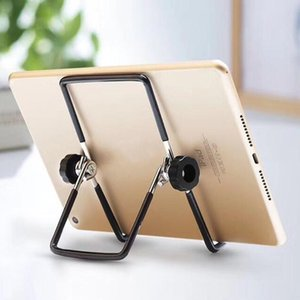 Universal foldable tablet metal stand
