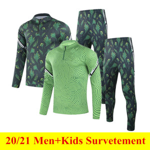Uomini + Bambini Tracksuit Okocha 2021 Ahmed Football Training Suit Thai Quality 20 21 Ocechukwu Soccer Jersey Survedement Mikel Casual Jogging Set