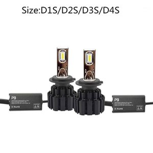 P9 LED 자동차 헤드 라이트 D2H D1S D3S D4S D2R D2S D4R D5S LED 전구 6000K 100W 자동차 빛 13400LM D2S 헤드 램프 자동차 안개 Light1