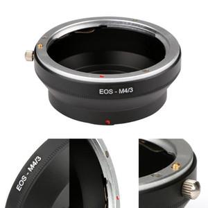 Adaptadores de lentes soportan adaptador de cámara EOS-M4 / 3 para EOS EF Mount a Micro 4/3 Ring