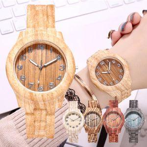 2020 Fashion Casual Wood Women Watches Dress Wristwatch for Women Montre Femme Lady Quartz Watch Relogio Feminino1
