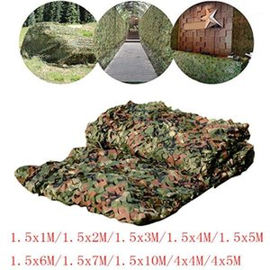 Sun Helter 2MX10M 4M 3M 1.5MX3M 5M 7M Hunting Camouflage Nets Woodland Army Camo Patting Camping Heltertent Shade Car1