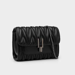 Genuine Leather Woman Package Oblique Satchel Women's Singles Shoulder Summer Diamond Lattice Chain Sheepskin Ma'am Handbags Luxur