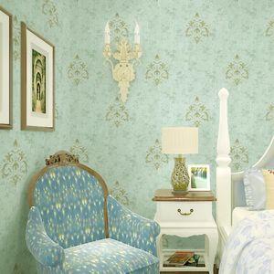 Fashion Tissu textile sans soudure Fond d'écran 10 ans Garantie Formaldéhyde Chambre d'accueil gratuit Salon Villa Décoration Villa Couverture murale