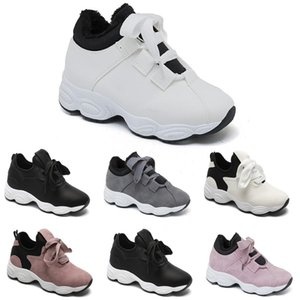 free shipping Non-Brand running shoes for women Chaussures White Black Pink Grey Suede fashion Sports Sneakers 36-40 Style 299
