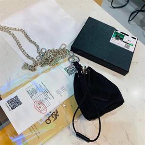 Portachiavi del portachiavi del portachiavi del portachiavi del portachiavi della borsa delle donne nuove di alta qualità con il portachiavi con la borsa della polvere della scatola
