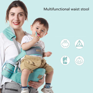 Ergonomic Baby Carrier Infant Hipseat Sling with Removable Safe Belt Front Facing Wrap for Travel Baby Gear 0-36 Months