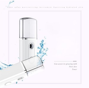Портативный USB Nano Misterial Mister Steamer Mini Face Air Suityifier Mist Mist Sprayer Увлажняющий очистки Треугольника Увлажнители HWB2899