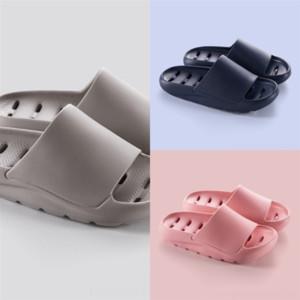 PU3T Women slipper summer lock shoes fashion Graffiti Sandals genuine Women cowhide leather Shoes with logo woman sandal dener luxury flip