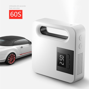 Multifunctional Car Air Pump Smart Preset Tire Pressure Pump 12V Digital Display Air Compressor LED Light Fast Tire
