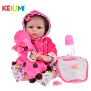 Keiumi отскока силикон для детей, 22 и 55 см запястье