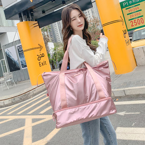 Designer-Travel Duffle Bags PINK Gym Bag Dry Wet Separation Yoga Bag Multifunction Handbags Big Capacity Shoulder Overnight Bag
