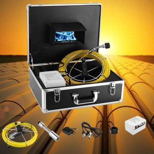 4500mAh HD 23MM Camera Lens Drain Sewer Pipeline Industrial Endoscope 7inch 20m Cable Pipe Inspection Video Camera
