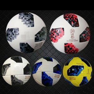 2018 red knock-out stage match New RUSSIA Premier PU football Ball World soccer Ball PU Champion outdoor Sport Training Calcio Cup Futebal.