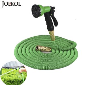 High Quality EU Flexible Expandable Hose Garden Water Hose Magic Hose Plastic Hoses Pipe With Spray Gun To Watering,car Wash T200530