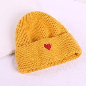 Creative Lovely Embroidered Knitted Hat for Both Men and Women European and American Fashion Street Warm Wool Hat1