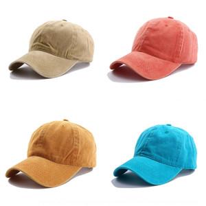 U8SK Cotton Baseball Caps Fashion-Designer Adjustable Strapbacks Visor Wovens Mens Adult Curved Sports Hats Blank Solid Sun For