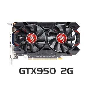 Veineda Grafikkarte GTX 950 2GB GDDR5 128Bit Grafikkarten für nVIDIA VGA-Karten Geforce GTX950 tronger als GTX 750 Ti
