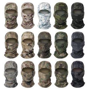 Chefs Camouflage capot équitation en extérieur Protection contre le soleil Masque Mesh Tissu à séchage rapide CS Hot Sale 27 capot Couleurs