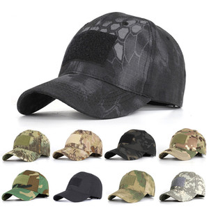 Outdoor Sport Camouflage Hat Simplicity Tactical Military Army Camo Hunting Cap Hat For Men Adult Snapbacks Cap WQ664