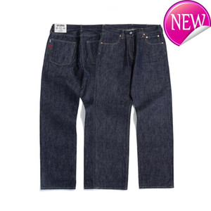 316XX- Homens SauceZhan Jeans Hetero Denim Jeans Selvedge Unsanforized Denim Men Mens