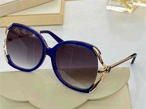 5184 Lentes Moda óculos Anti-UV revestimento de espelho óculos de sol Mulheres Feito de Top placa de metal Moldura Completa banhado ame de alta qualidade com caixa