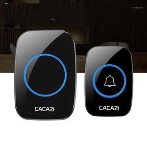 Self-Powed Wireless Smart Doorbell Waterproof 300M Range Door Bell No Charging US EU UK AU Plug For Home Office1