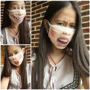 10pcs Моющихся Забавный мультфильм Свегося Face Mouth Маска Анти пыль PM2.5 Хлопок лицо Маски для лица Рот многоразовых мод Рот маски