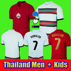 2020 jersey RONALDO maillot de l'équipe nationale de football jersey BERNARDO RONALDO kit enfants homme PEPE NEVES maillot de football JOAO FELIX B.FERNANDES 20/2