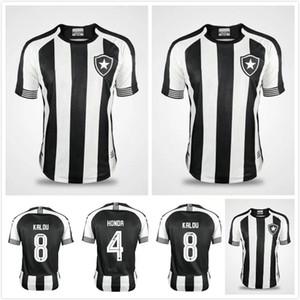 20 21 Botafogo de Futebol E Regatas Soccer Jerseys 2020 Botafogo Accueil N ° 1 Jefferson Soccer Shirt Chemise de football Uniforme