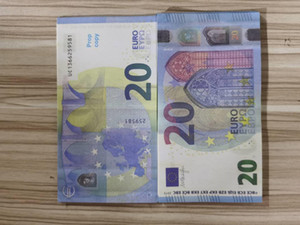 Prop Copy Copy 20 Euro Dólar Falso Dinheiro Billet Movie Prop Money Faux Billet Euro 20 Play Collection and Gifts128