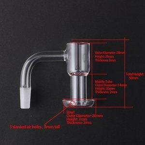 Main Terp Slurper Aspirateur Quartz Banger 10mm 14mm 18mm Mâle Mâle Quartz Terp Terp Slupers Terp Bangers Nails pour Glass Bongs DAB Resigues
