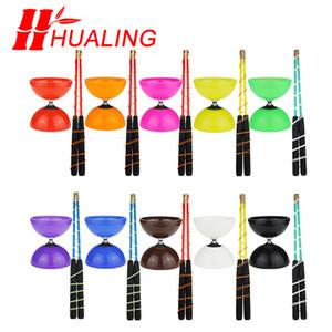 Risolto o cuscinetto Diabolo Giocattoli Diabolo Professional Diabolo Set Imballaggio con sacchetto di stringa Cina 201021