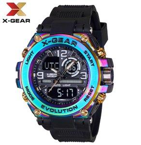 X-Gang verkauft authentische Mode-multifunktionale wasserdichte elektronische Sportuhren, die bei E-Commerce-Unternehmen beliebt sind
