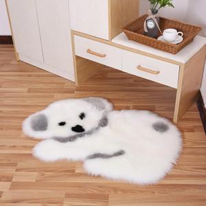 tappeto vivente bella del fumetto Koala camera da letto panda imitazione tappeto di lana capelli lunghi sedia da ufficio sedia del computer piano letto mat