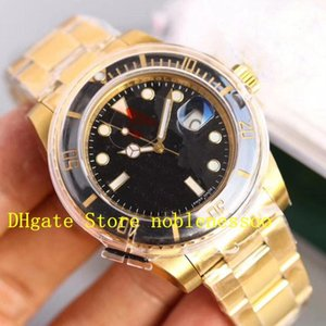 4 color swiss watch eta 2836 momming mene 40mm 18kt الذهب الأسود الهاتفي الأسود السيراميك 116618 ln 116613 116613 LB KS مصنع الرجال ساعات