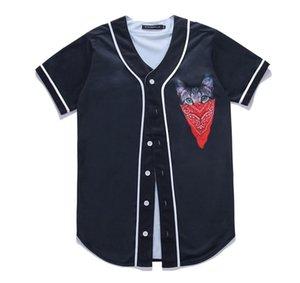 3d Floral Baseball Shirt Men 2020 Brand New Short Sleeve T Shirt Men Harajuku Streetwear Hawaiian T Shirt Men Baseball Jersey sqcWji