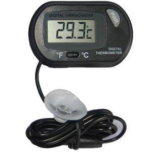 2017 New Lcd Digital Fish Tank Aquarium Thermometer Temperature Water Terrarium Black Aquariums Aquariums &Fish Free Shipping