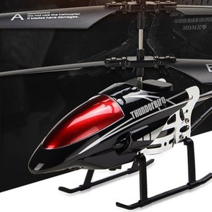 RC Helicopter 3.5 CH Radio Control Helicopter with LED Light Quadcopter Children Christmas Gift Shatterproof Flying Toys 201221