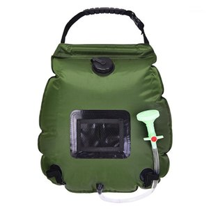 20L 휴대용 가방 야외 태양 수영장 물 캠프 하이킹 샤워 가방 AOTU AT6628 가족 야외 캠핑 액세서리 1