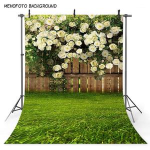 Mehofoto frühling landschaft foto hintergrund grün gras blume zaun fotografie hintergrund ostern sonntag kunst portrait kulissen 3771