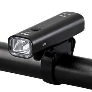 New Bike Light Rainproof USB Rechargeable LED 2000mAh MTB Front Lamp Headlight Aluminum Ultralight Bicycle Light