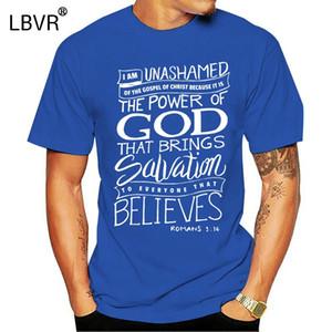 Gospel İncil Ayet Hıristiyan Tişörtlü spor Kapşonlu Kazak Hoodie Of Phiking Yeni Tasarım Erkek Te Gömlek Tasarımı I Am Unashamed