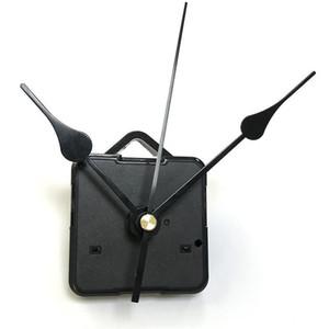 Accueil Horloges Horloge DIY Quartz Horloge Mouvement Kit d'horloge Noir Accessoires de broche Mécanisme de broche Réparation avec des ensembles de main ARBRE W50